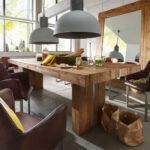 Esstische Holz Esstisch Monument Aus Teak Massiv Mit Gebrausspuren Kleine Design Moderne Rund Designer Ausziehbar Runde Massivholz Esstische Esstische