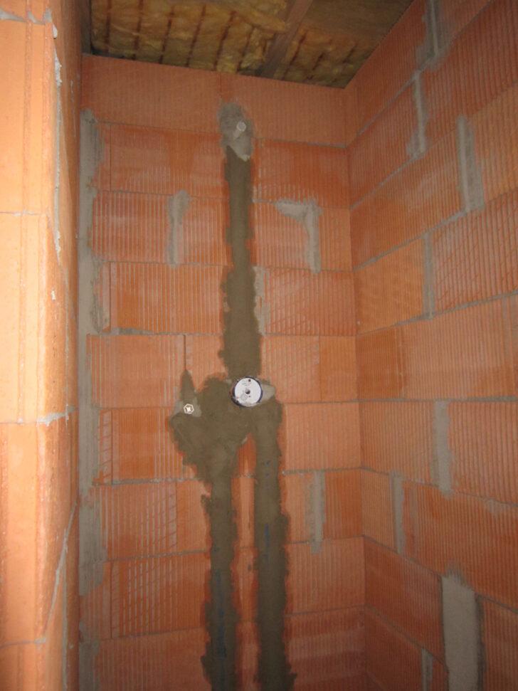 Medium Size of Dusche Unterputz Armatur Unterputzarmatur Hausbaublog Hillerse Glaswand Bodengleiche Einbauen Ebenerdig Nachträglich Begehbare Fliesen Behindertengerechte Dusche Dusche Unterputz Armatur