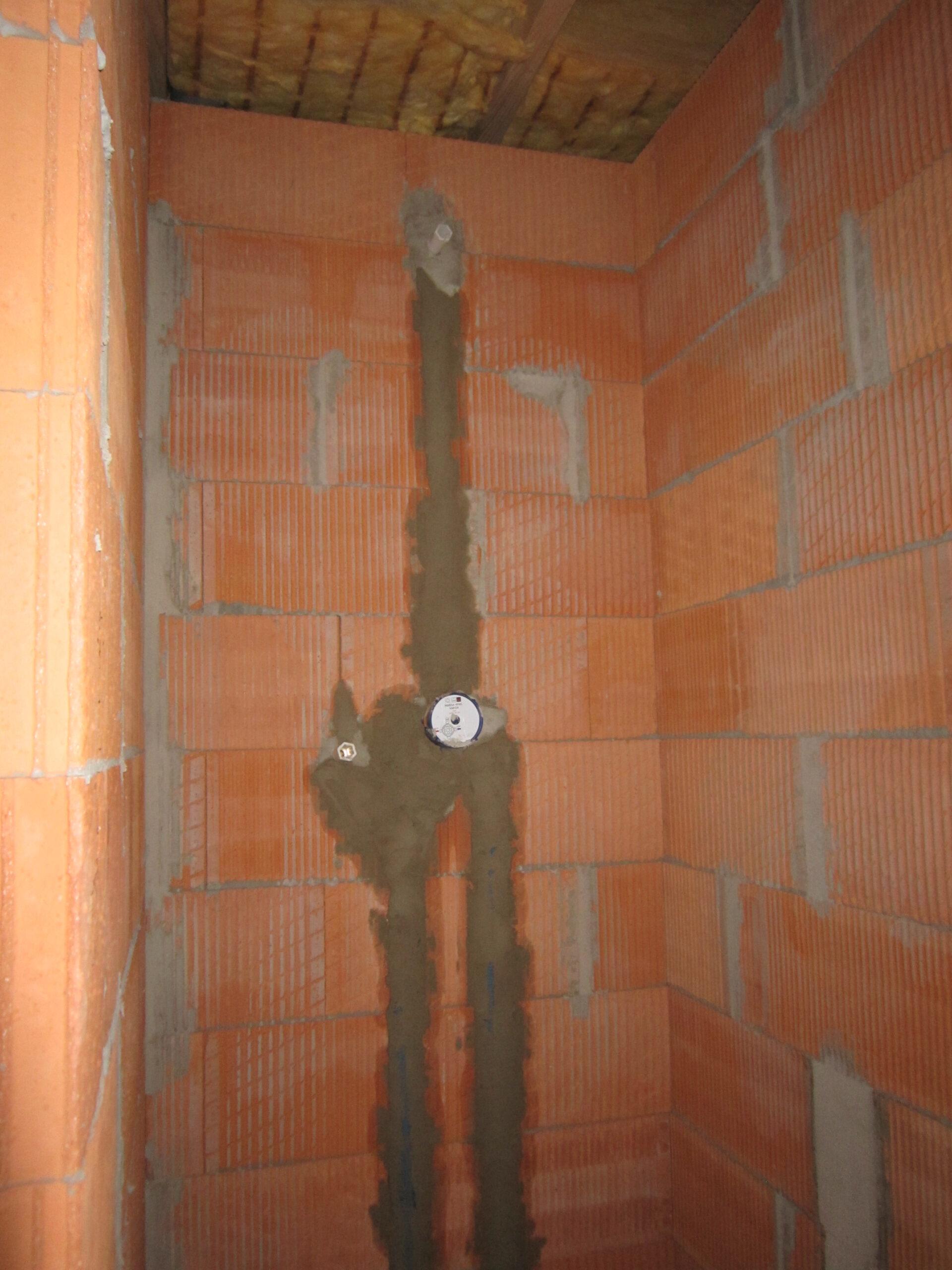 Full Size of Dusche Unterputz Armatur Unterputzarmatur Hausbaublog Hillerse Glaswand Bodengleiche Einbauen Ebenerdig Nachträglich Begehbare Fliesen Behindertengerechte Dusche Dusche Unterputz Armatur