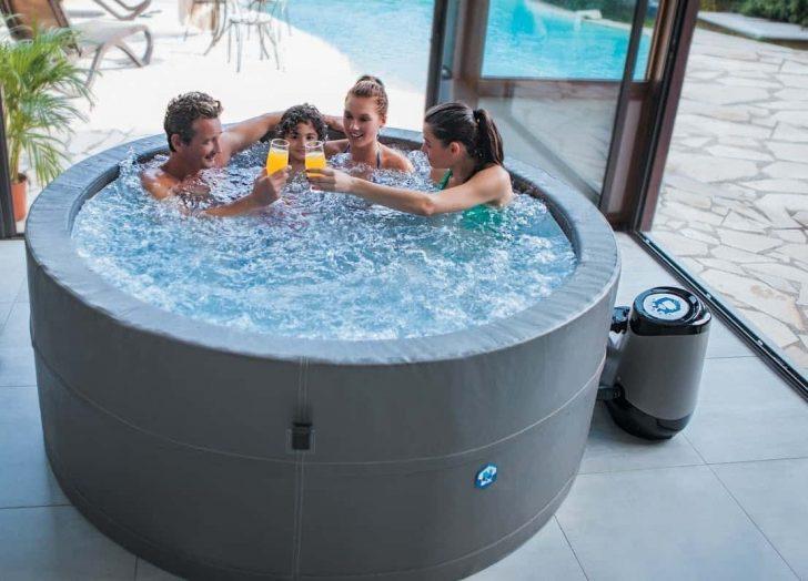 Medium Size of Whirlpool Aufblasbar Aufblasbarer Test Top 5 Modelle Im Vergleich Garten Wohnzimmer Whirlpool Aufblasbar
