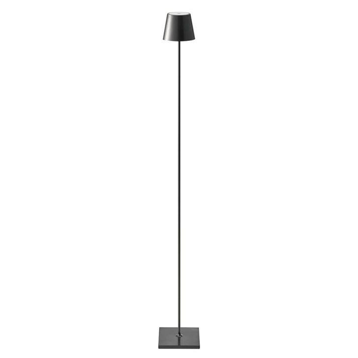 Medium Size of Stehlampe Dimmbar Led Akku Qutarg 120cm Ip54 Schwarz 81271 Wohnzimmer Stehlampen Schlafzimmer Wohnzimmer Stehlampe Dimmbar
