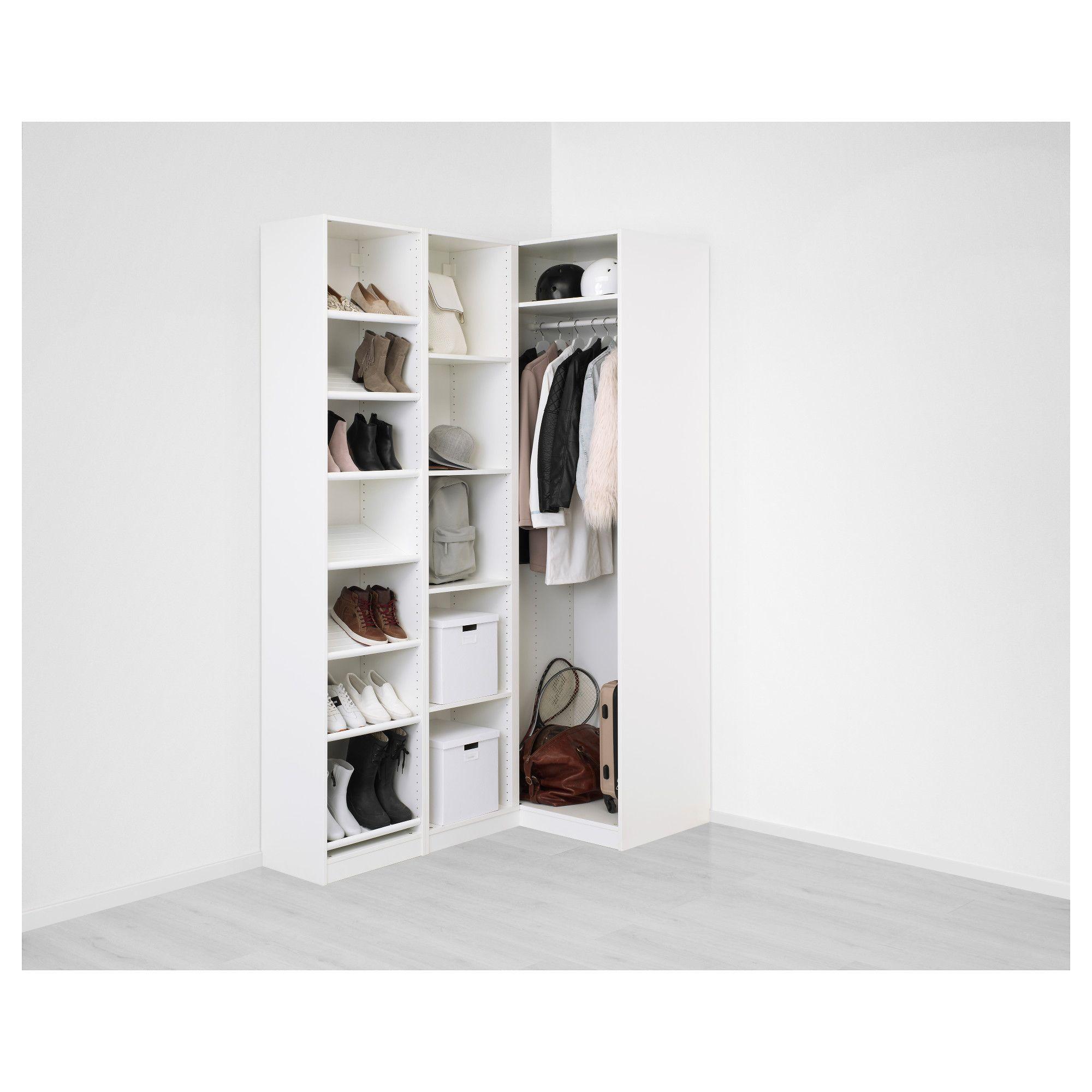 Full Size of Eckschrank Ikea Paeckkleiderschrank Wei Modulküche Bad Betten Bei Küche Kosten Miniküche 160x200 Sofa Mit Schlaffunktion Kaufen Schlafzimmer Wohnzimmer Eckschrank Ikea