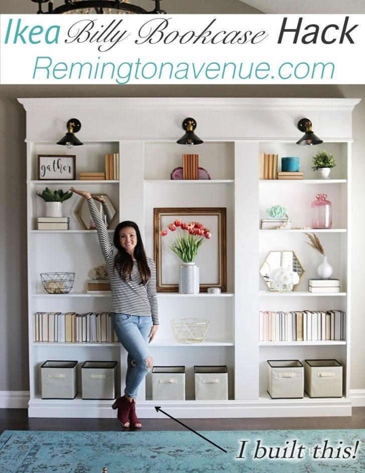 Medium Size of Ikea Billy Bookcase Library Hack Remington Avenue Küche Kaufen Sofa Mit Schlaffunktion Kosten Modulküche Betten Bei 160x200 Miniküche Wohnzimmer Ikea Hacks