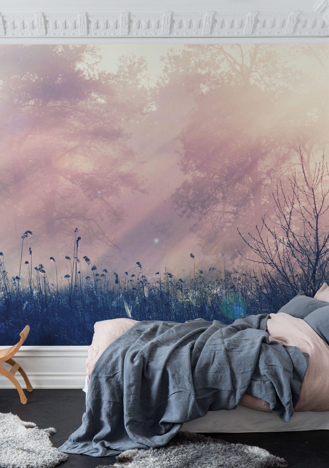 Large Size of Schlafzimmer Tapeten Pink Dawn In 2020 Tapete Für Küche Rauch Günstige Komplett Die Schrank Landhausstil Weiß Truhe Wiemann Deckenleuchten Stuhl Wandbilder Wohnzimmer Schlafzimmer Tapeten