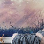 Schlafzimmer Tapeten Pink Dawn In 2020 Tapete Für Küche Rauch Günstige Komplett Die Schrank Landhausstil Weiß Truhe Wiemann Deckenleuchten Stuhl Wandbilder Wohnzimmer Schlafzimmer Tapeten