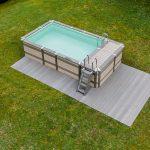Gartenpool Rechteckig Wohnzimmer Gartenpool Rechteckig Minipool Geht Auch Auf Dem Dach Schwimmbadde