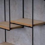 Wandregal Regal 32x32cm Metall Schwarz Holz Mdf Natur Modern Meta Regale Bad Kleine Industrie Babyzimmer Schreibtisch Mit Körben Aus Weinkisten Hifi Obi Weiß Regal Industrie Regal