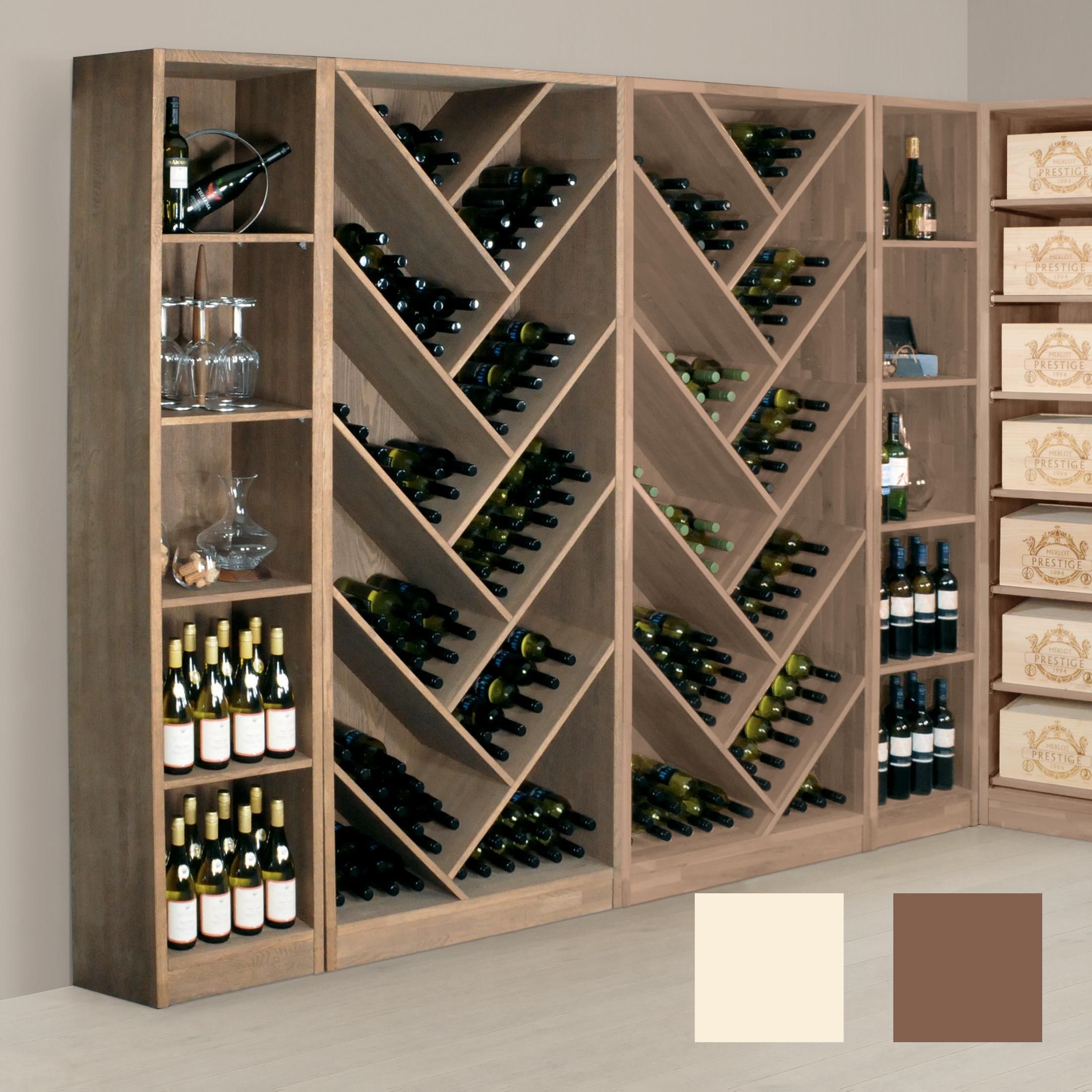 Full Size of Weinregal Prestige 111 Und 112 Aus Massiver Eiche Promondo Bad Wandregal Regal Würfel Kleines Weiß Weinkisten Industrie Nach Maß Designer Regale Regal Wein Regal