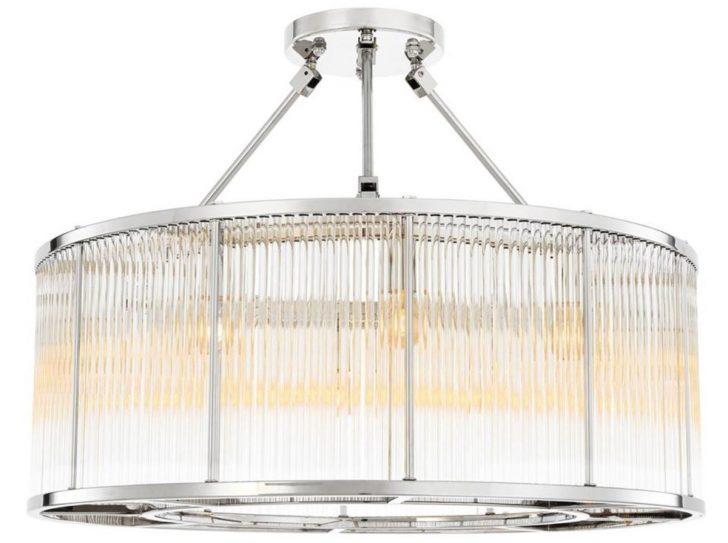 Medium Size of Deckenleuchten Wohnzimmer Casa Padrino Deckenleuchte Silber 80 H 61 Cm Luxus Vitrine Weiß Hängeschrank Hochglanz Liege Lampe Lampen Vorhänge Wandtattoo Wohnzimmer Deckenleuchten Wohnzimmer