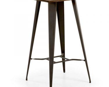 Küchenbartisch Wohnzimmer Kchenbartisch Luosa Aus Bambus Massiv Und Stahl Pharao24de