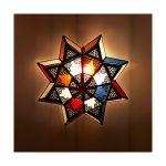 Holzlampe Decke Wohnzimmer Arabische Decke Lampe Mehrfarbige Kristalle Entwurf Tagesdecke Bett Badezimmer Wohnzimmer Led Deckenleuchte Deckenlampe Decken Deckenlampen Für Schlafzimmer