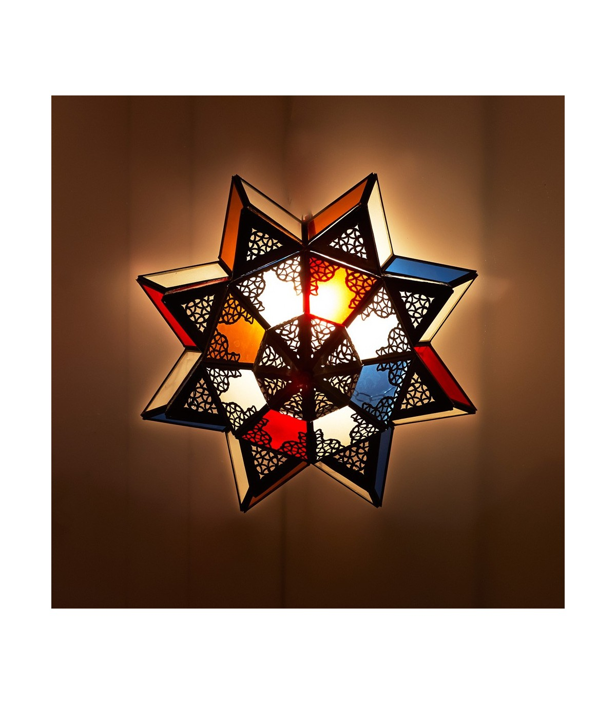 Full Size of Arabische Decke Lampe Mehrfarbige Kristalle Entwurf Tagesdecke Bett Badezimmer Wohnzimmer Led Deckenleuchte Deckenlampe Decken Deckenlampen Für Schlafzimmer Wohnzimmer Holzlampe Decke