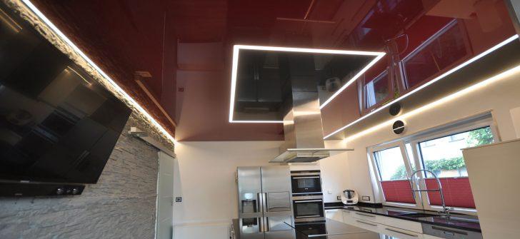 Medium Size of Beleuchtung Küche Lackspanndecken Und Lichtdecken Fr Ihre Kche Cbspanndecken Einbauküche Kaufen Deko Für Fliesenspiegel Selber Machen Umziehen Anthrazit Wohnzimmer Beleuchtung Küche