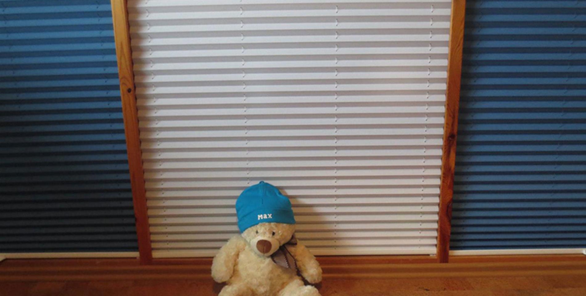 Full Size of Lrmschutz Mit Plissee In Zweilagiger Wabenstruktur Regal Kinderzimmer Weiß Sofa Fenster Regale Kinderzimmer Plissee Kinderzimmer