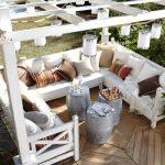 Lounge Selber Bauen Klasse Pergola Zum Mit Gemtlicher Sitzecke Im Garten Loungemöbel Günstig Bodengleiche Dusche Nachträglich Einbauen Möbel Sessel Wohnzimmer Lounge Selber Bauen