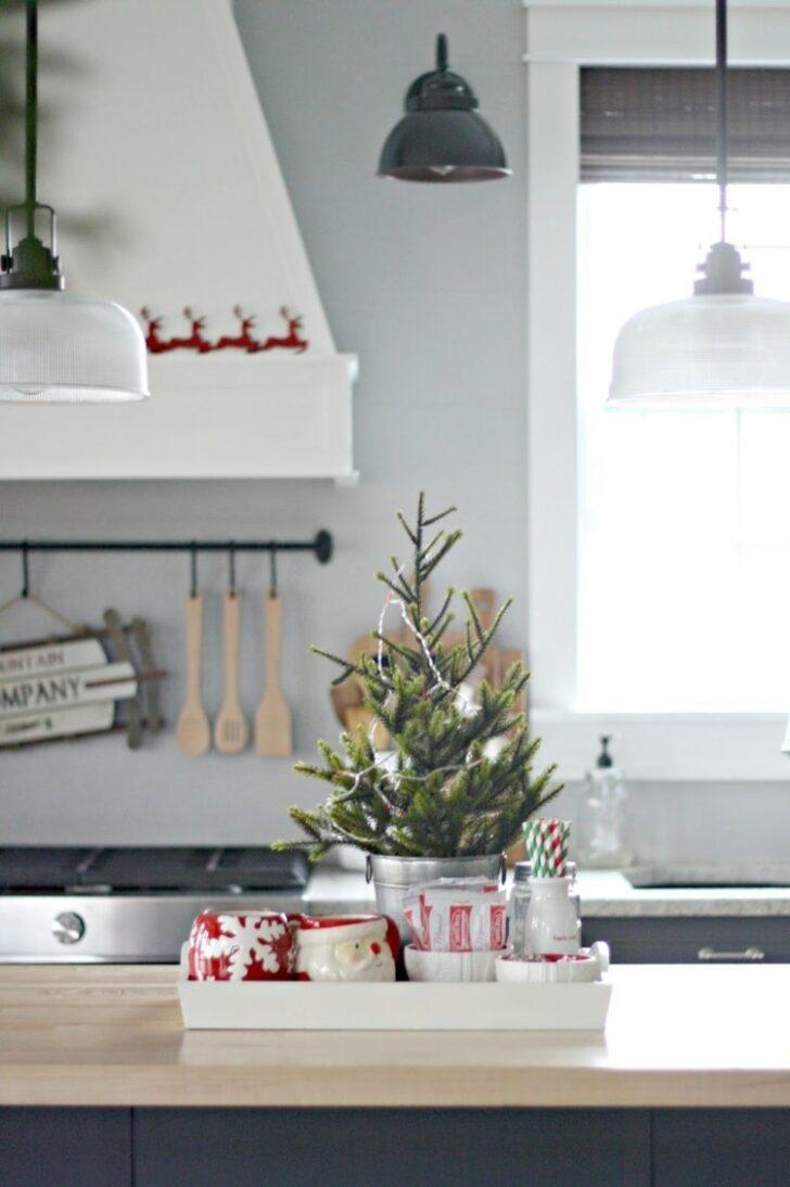 Medium Size of Küche Deko Sie Mchten Kche Weihnachtlich Dekorieren Hier Ein Paar Badezimmer Eckschrank Apothekerschrank Grillplatte Modulküche Ikea U Form Gardine Hochglanz Wohnzimmer Küche Deko
