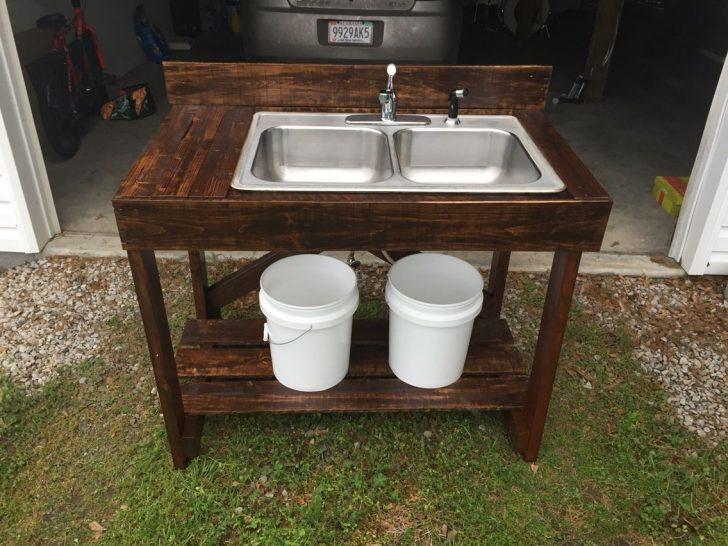 Medium Size of Pin Auf Wohnwagen Bad Keramik Waschbecken Küche Badezimmer Outdoor Kaufen Edelstahl Wohnzimmer Outdoor Waschbecken