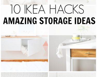 Ikea Hacks Wohnzimmer Ikea Hacks 10 Amazing Storage Ideas Hawthorne And Main Betten 160x200 Sofa Mit Schlaffunktion Modulküche Miniküche Küche Kosten Kaufen Bei