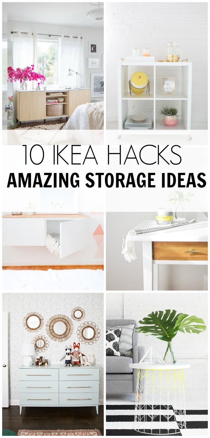 Full Size of Ikea Hacks 10 Amazing Storage Ideas Hawthorne And Main Betten 160x200 Sofa Mit Schlaffunktion Modulküche Miniküche Küche Kosten Kaufen Bei Wohnzimmer Ikea Hacks