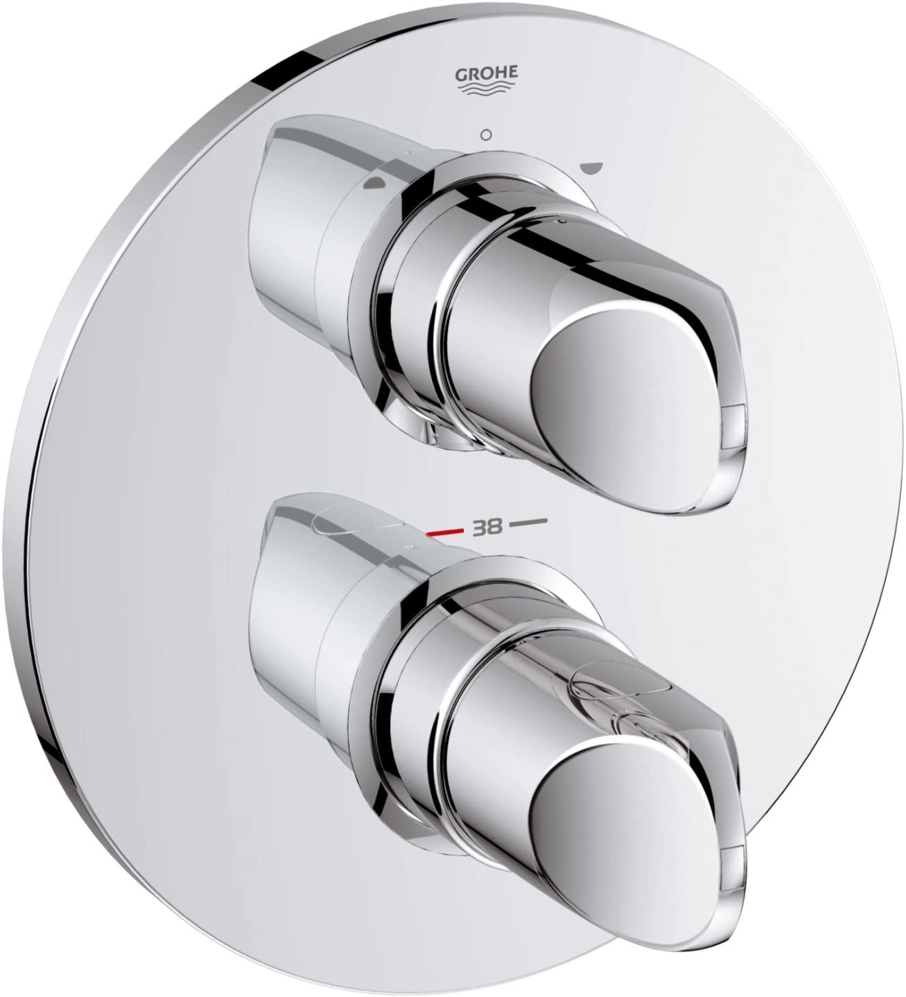 Full Size of Thermostat Dusche Bodengleich Bluetooth Lautsprecher Schiebetür Fliesen Ebenerdige Kosten Mischbatterie Koralle Siphon 80x80 Eckeinstieg Unterputz Grohe Walk Dusche Grohe Thermostat Dusche