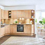 Holzküchen Kleine Holz Kche Preiswert Kaufen Kchen Lieferbar Ab 10 Tagen Wohnzimmer Holzküchen