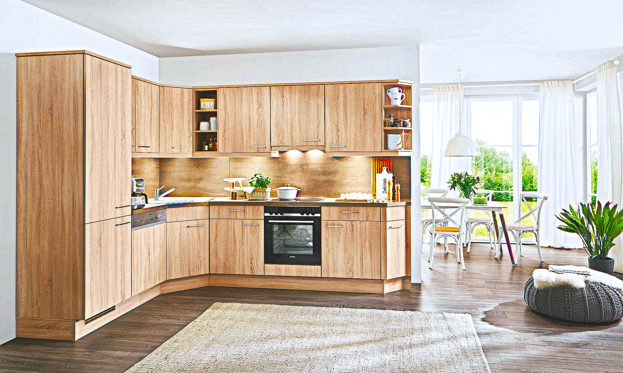 Full Size of Holzküchen Kleine Holz Kche Preiswert Kaufen Kchen Lieferbar Ab 10 Tagen Wohnzimmer Holzküchen