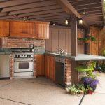 Outdoor Küche Kche So Kocht Es Sich Drauen Wie Drinnen Einbauküche Günstig Spüle Armatur Landhausküche Teppich Grifflose Nobilia Anrichte Vinylboden Wohnzimmer Outdoor Küche