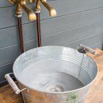Outdoor Waschbecken Diy Upcycling Kche Aus Einer Werkbank Leelah Loves Küche Edelstahl Kaufen Bad Badezimmer Keramik Wohnzimmer Outdoor Waschbecken