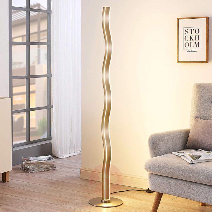 Medium Size of Bro Schreibwaren Led Stehlampe Auron Lampenwelt Wellenfrmig Moderne Bilder Fürs Wohnzimmer Deckenleuchte Tapete Küche Modern Stehlampen Schlafzimmer Modernes Wohnzimmer Stehlampe Modern