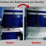 Ebenerdige Dusche Kosten Aus Ihrer Alten Badewanne Wird Ein Gerumiges Duschvergngen Lärmschutzwand Garten Unterputz Armatur Fenster Erneuern Bodengleiche Dusche Ebenerdige Dusche Kosten