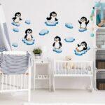 Bild Kinderzimmer Bilderwelten Wandtattoo Pinguin Set Wohnzimmer Bilder Xxl Sofa Regal Weiß Modern Glasbilder Küche Wandbild Wandbilder Schlafzimmer Regale Kinderzimmer Bild Kinderzimmer