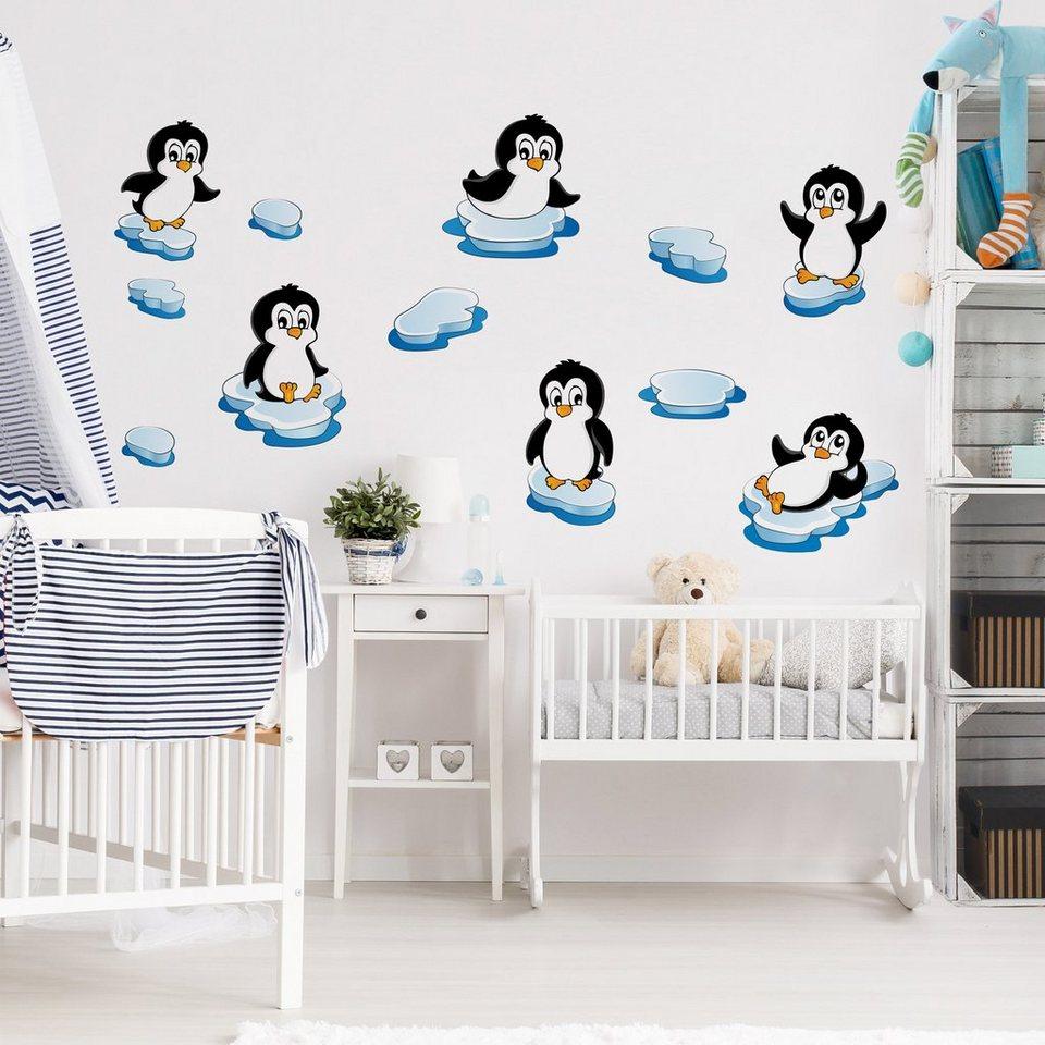 Full Size of Bild Kinderzimmer Bilderwelten Wandtattoo Pinguin Set Wohnzimmer Bilder Xxl Sofa Regal Weiß Modern Glasbilder Küche Wandbild Wandbilder Schlafzimmer Regale Kinderzimmer Bild Kinderzimmer