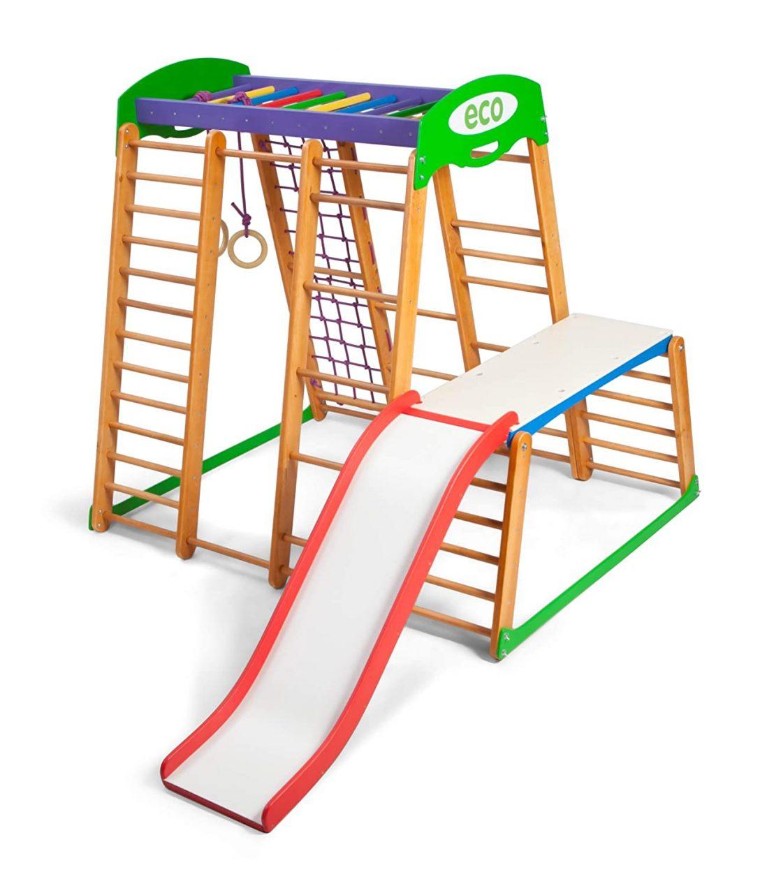 Large Size of Klettergerüst Indoor Kindsport Aktivittsspielzeug Kletterturm Mit Rutsche Garten Wohnzimmer Klettergerüst Indoor