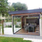 Outdoor Kche Mit Glasschiebetren Wintergarten Schmidinger Modulküche Ikea Einbauküche Günstig Holz Arbeitsplatte Küche Regal Abluftventilator Küchen Wohnzimmer Outdoor Küche