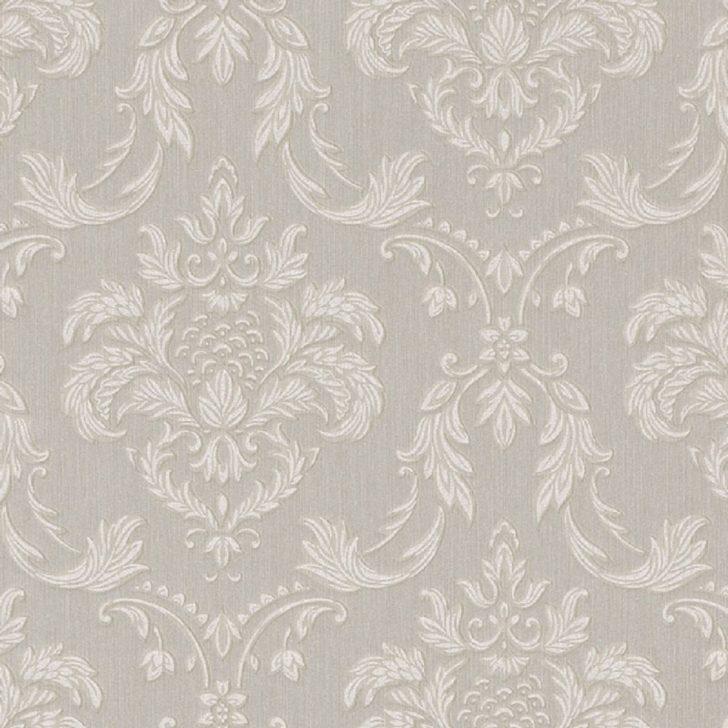 Medium Size of Vliestapete Wohnzimmer Casa Padrino Barock Textiltapete Grau Wei Beige 10 Liege Bilder Modern Deckenleuchte Stehlampen Gardinen Moderne Fürs Heizkörper Wohnzimmer Vliestapete Wohnzimmer