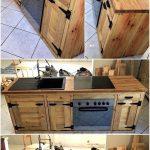 Pin Von Nicole Auf Einrichten In 2020 Diy Paletten Abfallbehälter Küche Hängeschrank Glastüren Tapete Modern Einbauküche Günstig Wandregal Landhaus Wohnzimmer Küche Aus Paletten