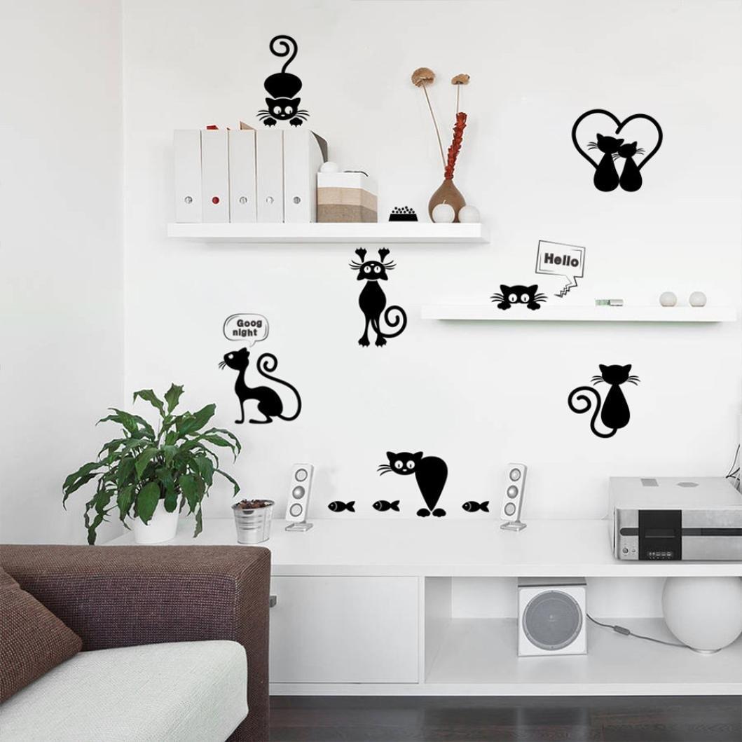 Full Size of Wandaufkleber Katze Wohnzimmer Küchentapeten
