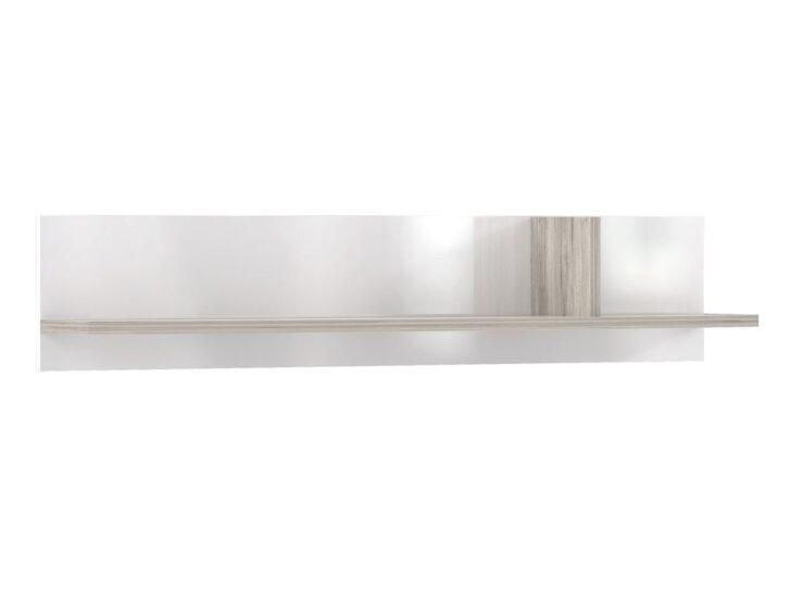 Medium Size of Wandboard Rubio 14 Sandeiche Wei Hochglanz 139x27x26 Cm Wandregal Regal Mit Schubladen Regale Obi Schlafzimmer Landhausstil Weiß Schmales Metall Bett 90x200 Regal Weiß Hochglanz Regal
