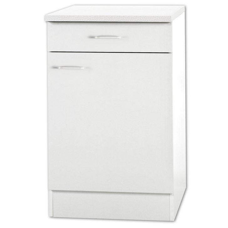 Medium Size of Kchenunterschrank Klassik Wei Mit Arbeitsplatte 50 Cm Breit Wohnzimmer Küchenunterschrank