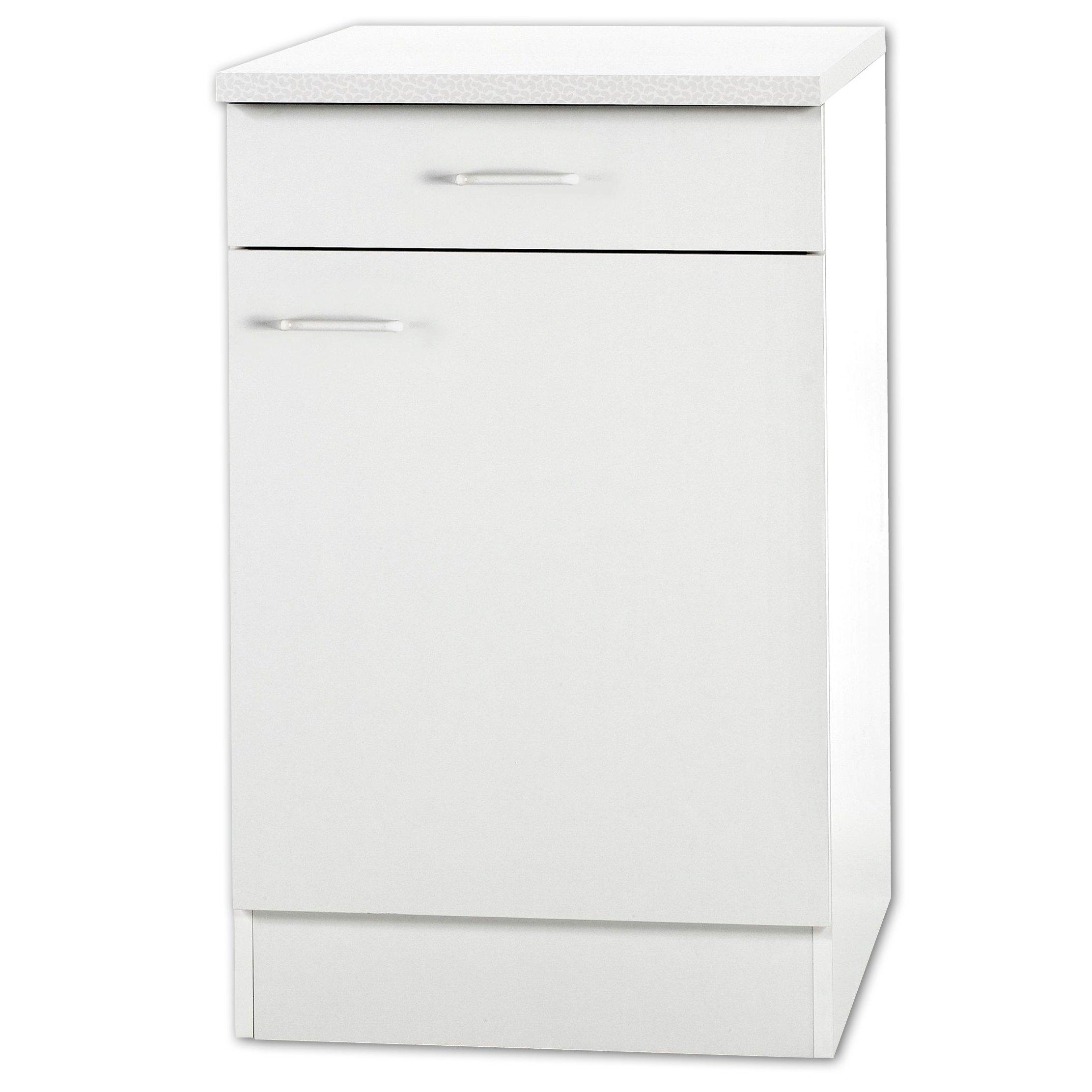 Full Size of Kchenunterschrank Klassik Wei Mit Arbeitsplatte 50 Cm Breit Wohnzimmer Küchenunterschrank