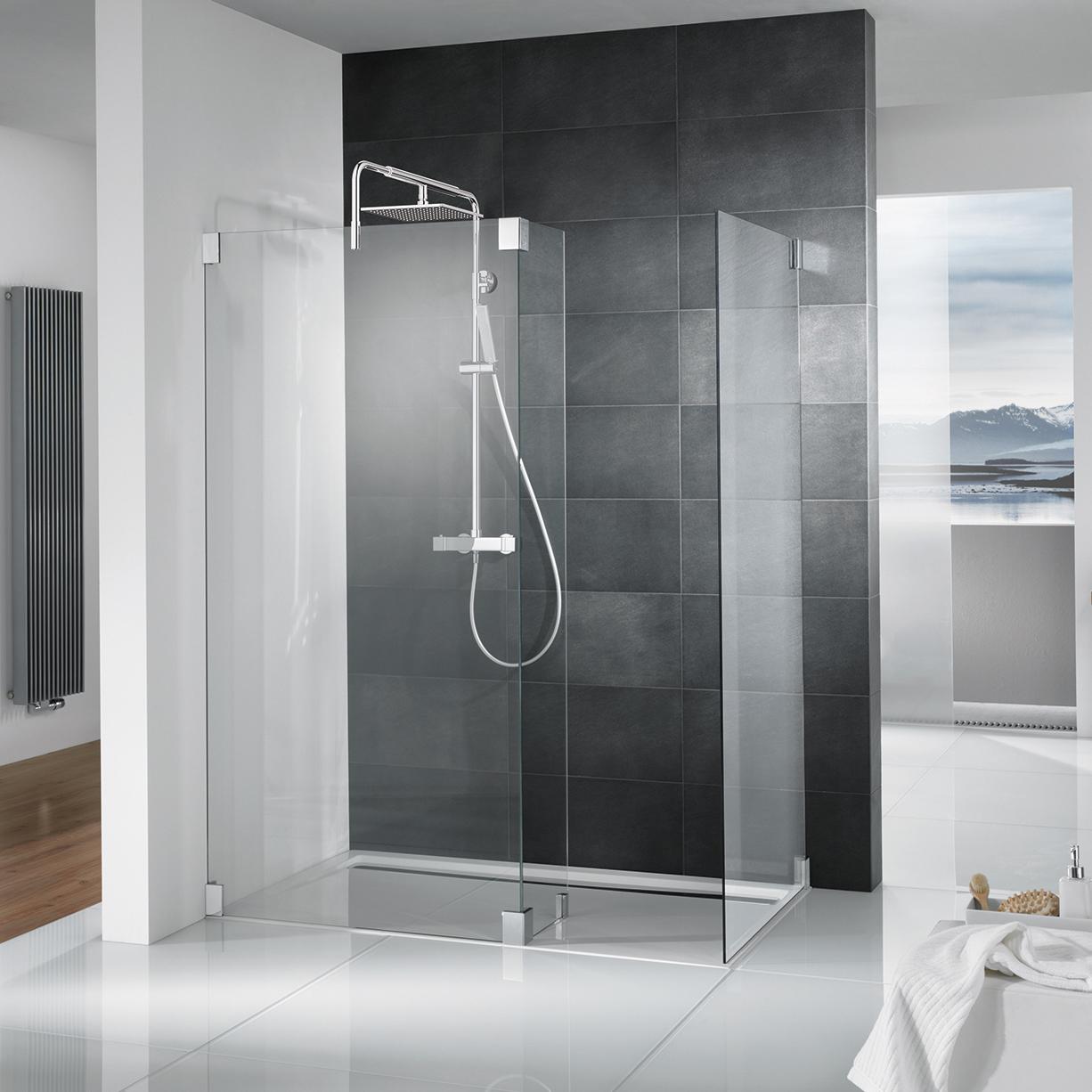 Full Size of Begehbare Duschen Glasduschen Und Bodengleiche Moderne Hüppe Breuer Hsk Dusche Ohne Tür Fliesen Schulte Werksverkauf Kaufen Sprinz Dusche Begehbare Duschen