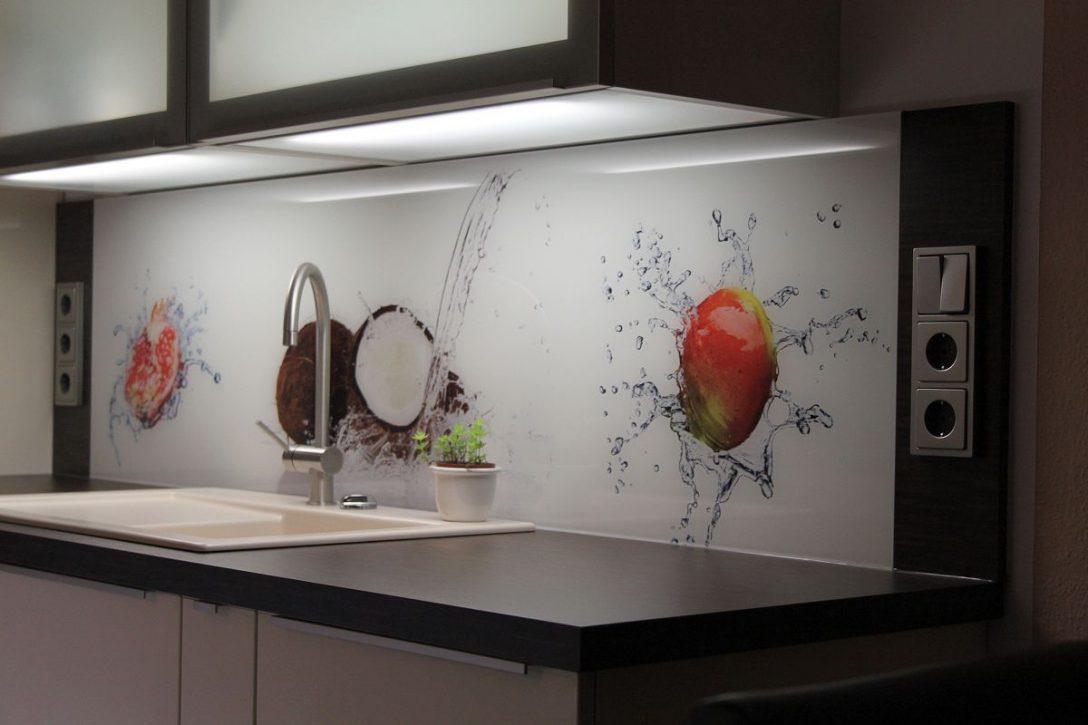 Large Size of Küchenrückwand Ideen Kchenrckwand Aus Glas Mit Motiv Home Design Bad Renovieren Wohnzimmer Tapeten Wohnzimmer Küchenrückwand Ideen