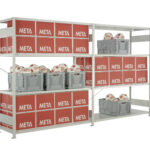 Fachboden Im Xxl Format Logistiknet Regale Selber Bauen Für Dachschrägen Günstige Nach Maß Weiße Schmale Dvd Berlin Weiß Schäfer Regal Meta Regale