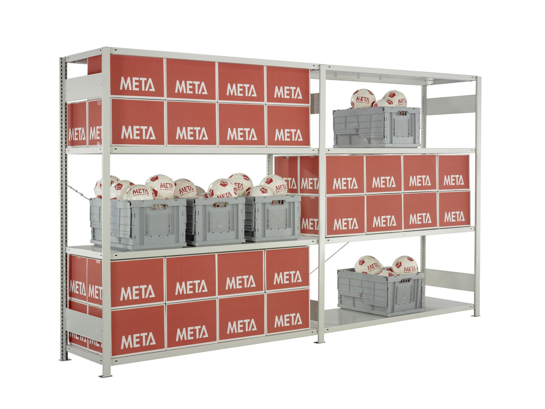 Full Size of Fachboden Im Xxl Format Logistiknet Regale Selber Bauen Für Dachschrägen Günstige Nach Maß Weiße Schmale Dvd Berlin Weiß Schäfer Regal Meta Regale