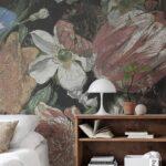 Schlafzimmer Tapete Wohnzimmer Schlafzimmer Tapete Tapeten Blumen Caseconradcom Für Die Küche Wandtattoos Komplett Günstig Regal Mit Lattenrost Und Matratze Schränke Fototapete Kommode