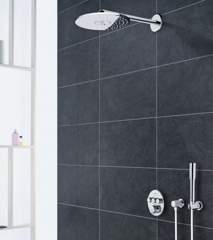 Medium Size of Duschsysteme Grohe Heinzede Walkin Dusche Bodengleiche Einbauen Mischbatterie Duschen Kaufen Thermostat Badewanne Mit Schulte Bodenebene Nachträglich Kleine Dusche Grohe Dusche