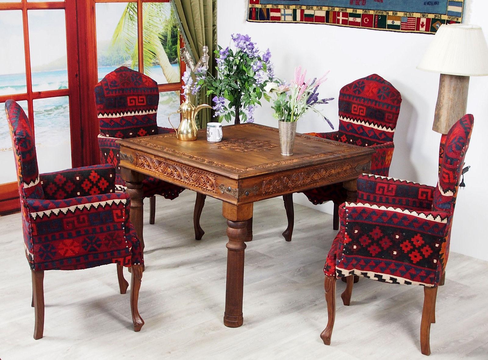 Full Size of Esstisch Kolonialstil 100x100 Cm Antik Look Orient Massiv Holz Tisch Kleine Esstische Eiche Stühle Grau Ausziehbar Holzplatte Mit Stühlen Set Günstig Esstische Esstisch Kolonialstil