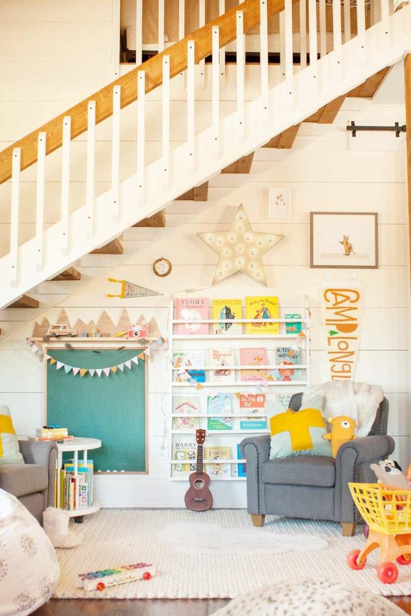 Full Size of Spielecke Im Kinderzimmer Einrichten 45 Bunte Ideen Regal Weiß Sofa Regale Kinderzimmer Einrichtung Kinderzimmer