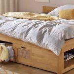 Stauraumbett 120x200 Wohnzimmer Stauraumbett 120x200 Bett Weiß Mit Bettkasten Betten Matratze Und Lattenrost