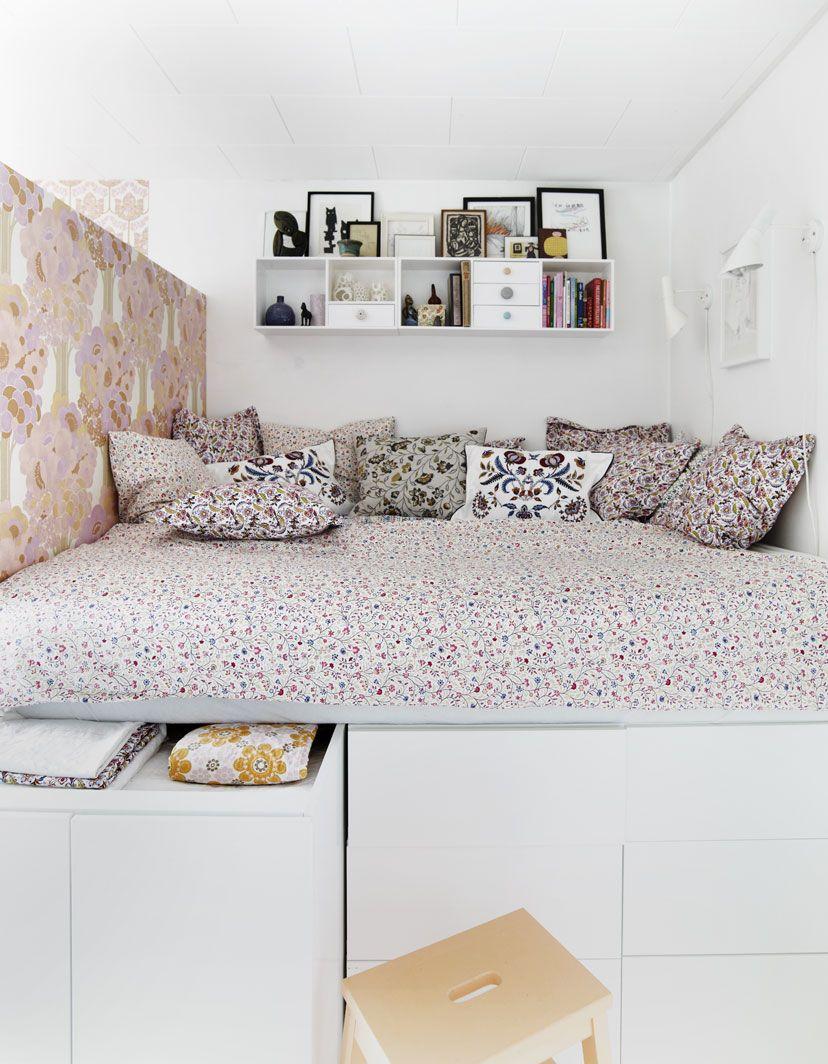 Full Size of Bett Mit Stauraum Ikea Selber Bauen Hack 180x200 Diy 120x200 140x200 160x200 Betten Viel Malm 90x200 Bed Inspired By Fn 120 Cm Breit Regal Schreibtisch Wohnzimmer Bett Mit Stauraum Ikea